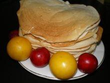 Maślankowe pancakes z wanilią