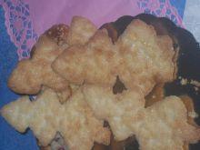 Maślano-kruche ciasteczka - choinki