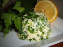 Masło ziołowe z czosnkiem niedźwiedzim