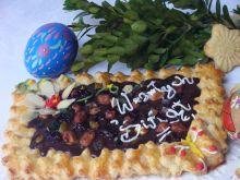 Mazurek czekoladowo-bakaliowy