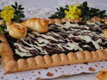 Mazurek kajmakowo-śliwkowy