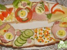 Mega kanapka dla niejadka