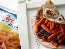 Meksykańska Tortilla de Zanahoria