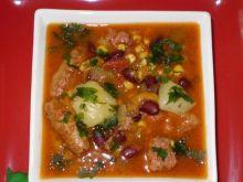 Meksykańska zupa wg Babcigramolki: