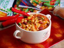 Meksykańska zupa z cieciorką