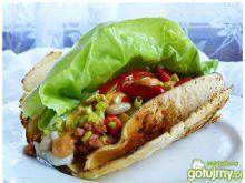 Meksykańskie tacos na kolorowo