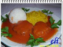 Mielone Eli w sosie pomidorowym