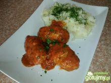 Mielone w sosie pomidorowo-marchewkowym