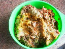 Mielone z cukinią i innymi warzywami