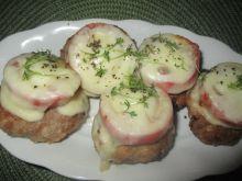 Mielone zapiekane z pomidorem i mozzarellą
