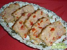 Mięsko zapiekane z serem i papryką