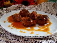 Mięsne kluki w sosie paprykowym