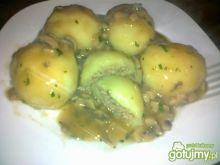 Mięsne kluseczki z sosem grzybowym