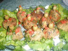 Mięsne koreczki