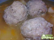 Mięsne kulki do zup