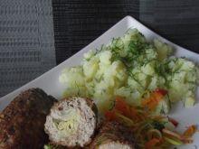 Mięsne wałeczki z fasolką szparagową