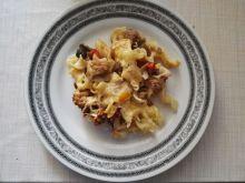 Mięsno-warzywna zapiekanka makaronowa