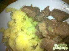 Mięso gulaszowe w sosie własnym