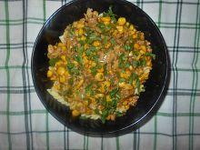 Mięso mielone z kukurydzą