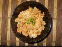 Mięso mielone z ryżem i boczkiem