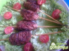 Mięso z bazylią grillowane a'la Kebab