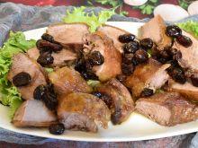 Mięso z kaczki z żurawiną i miodem
