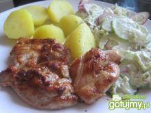 Mięso z kurczaka grillowane