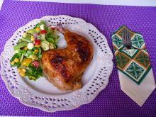 Mięso z kurczaka w maślance i rozmarynie