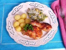 Mięso z kurczaka w skorupce z ajwaru