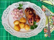 Mięso z kurczaka z żurawiną