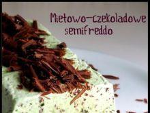 Miętowo-czekoladowe semifreddo