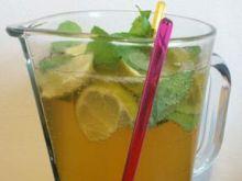 Miętowo- limonkowa mrożona herbata na ga