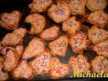 Migdałowe z polewą marcepanową