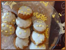 Migdałowo-pomarańczowe pierniczki