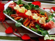 Miłosna sałatka z pomidorową salsą