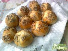 Mini bułeczki ze słonecznikiem