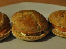 Mini bułki pszenno-żytnie