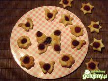 Mini ciasteczka francuskie z foremek