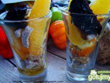Mini deserki z błonnikiem i owocami