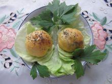 Mini drożdżóweczki z mięsem