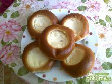 Mini drożdżówki z serem