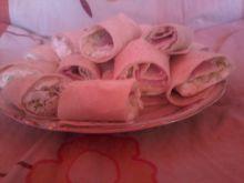 Mini kanapki z tortilli