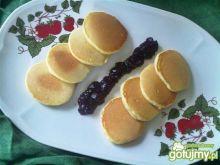 Mini pancakes cytrynowe