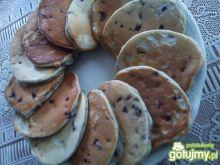 Mini-pancakes z jagodami