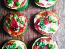 Mini pizza z cukinii