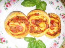 Mini pizze z porem
