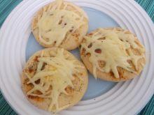 Mini pizze z serem
