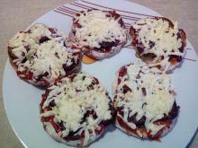 Mini pizze ziemniaczane