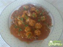 Mini pulpeciki w sosie pomidorowym