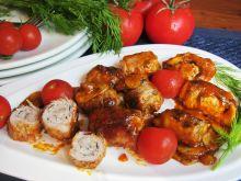 Mini roladki w sosie pomidorowym